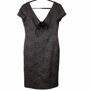 Armani Collezioni V-Neck Dress Size 10